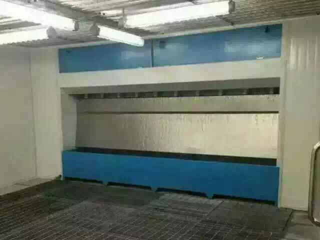 无泵水幕喷漆房