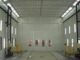 大型喷漆房配三维台车