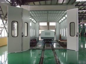 轨道型喷漆房
