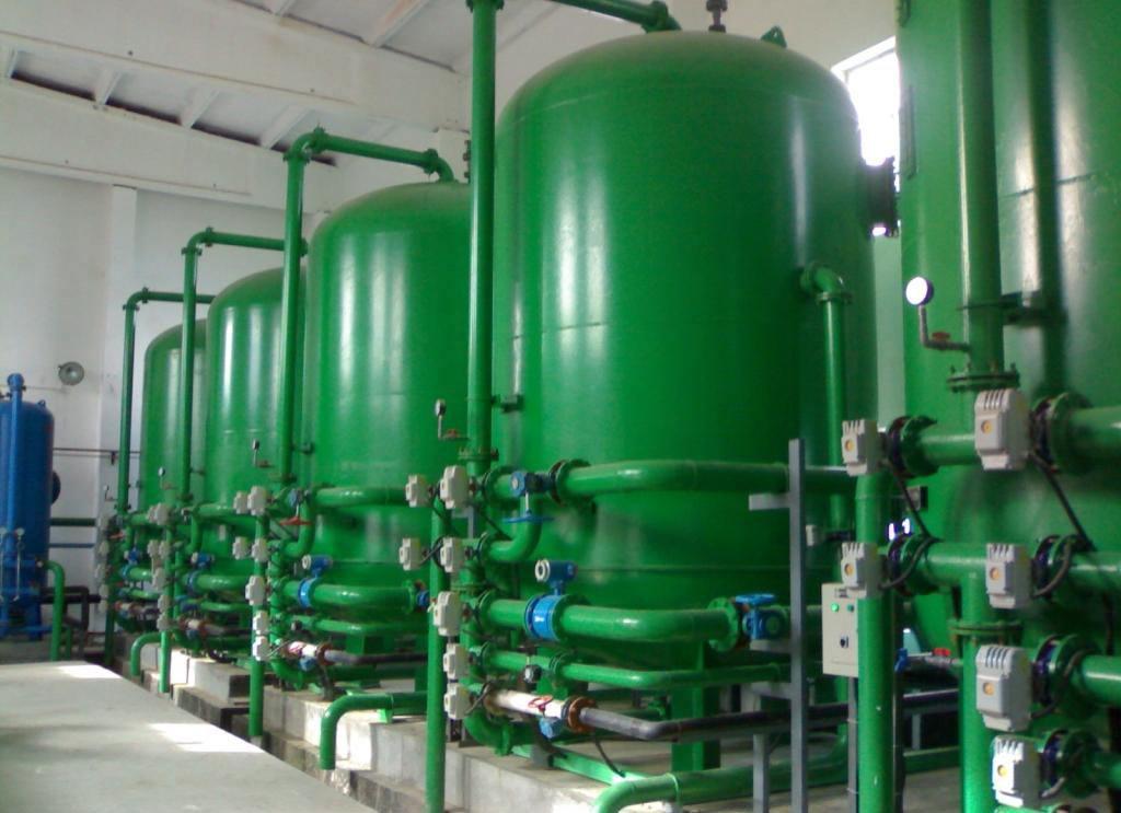 污水处理滤灌
